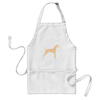 German Shorthaired Pointer Typography Standard Apron
