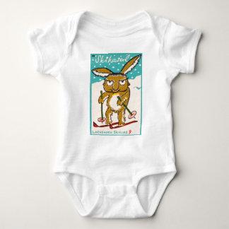 German Ski Bunny Baby Bodysuit
