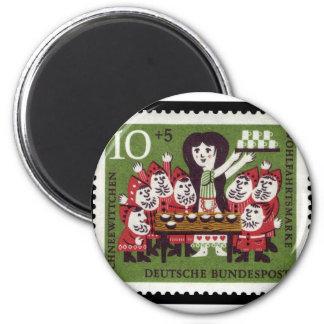 German Snow White Magnet