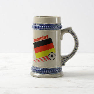 German Soccer Team Beer Stein