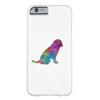German Spaniel in watercolor Barely There iPhone 6 Case
