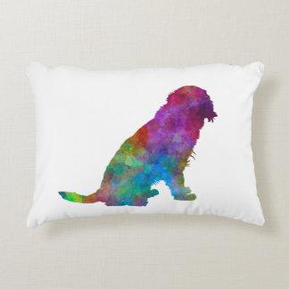German Spaniel in watercolor Decorative Pillow