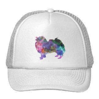 German Spitz in watercolor 2 Trucker Hat