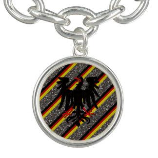 German stripes flag bracelet
