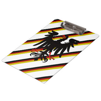 German stripes flag clipboard