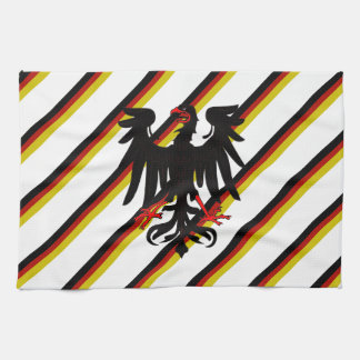 German stripes flag kitchen towel