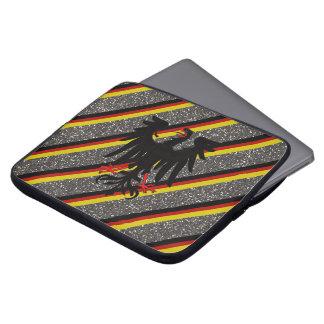German stripes flag laptop sleeve
