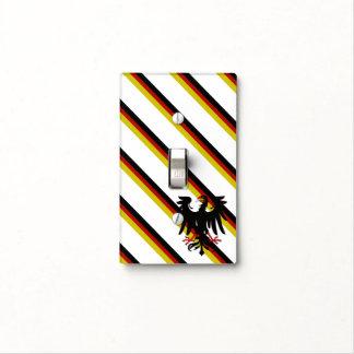 German stripes flag light switch cover