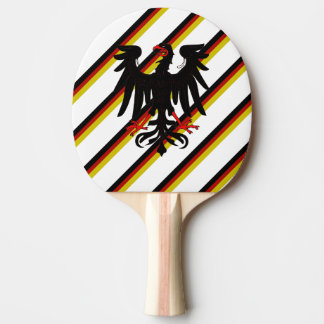 German stripes flag ping pong paddle