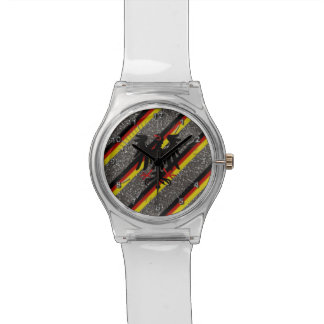 German stripes flag watch
