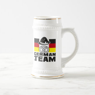 GERMAN TEAM 2 BEER STEIN