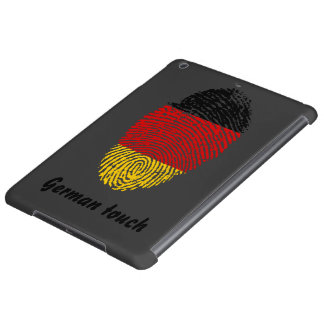 German touch fingerprint flag iPad air case