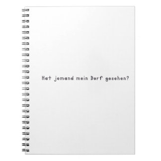 German -Village Notebook