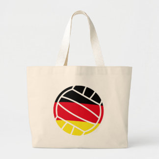 german volleyball large tote bag