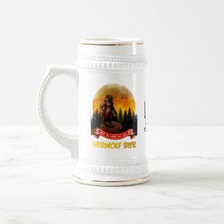 German Werwolf Bier - Bavarian Werewolf Beer Stein