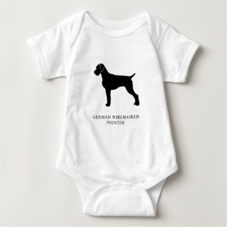 German Wirehaired Pointer Baby Bodysuit