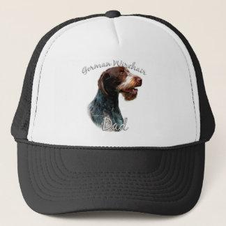German Wirehaired Pointer Dad 2 Trucker Hat