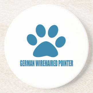 GERMAN WIREHAIRED POINTER DOG DESIGNS COASTER