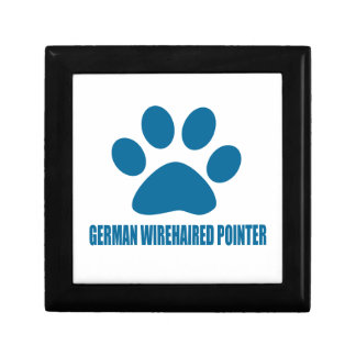 GERMAN WIREHAIRED POINTER DOG DESIGNS GIFT BOX