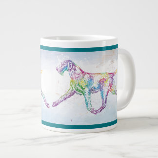German Wirehaired Pointer Large Coffee Mug