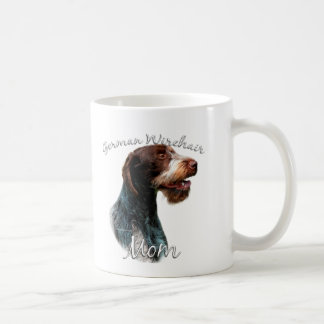German Wirehaired Pointer Mom 2 Coffee Mug