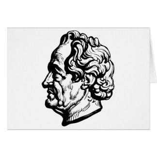 German writer Goethe Card