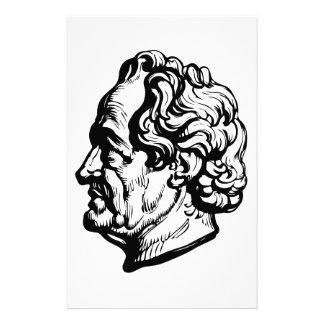 German writer Goethe Custom Stationery