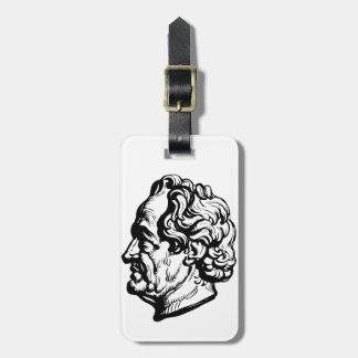 German writer Goethe Luggage Tag