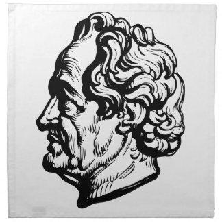 German writer Goethe Napkin