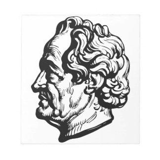 German writer Goethe Notepad