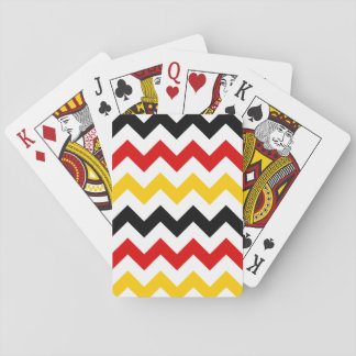 German Zigzag 2 Playing Cards