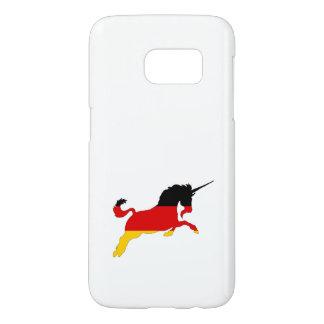 Germann Flag - Unicorn Samsung Galaxy S7 Case