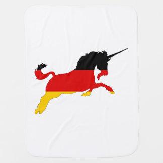 Germann Flag - Unicorn Stroller Blanket
