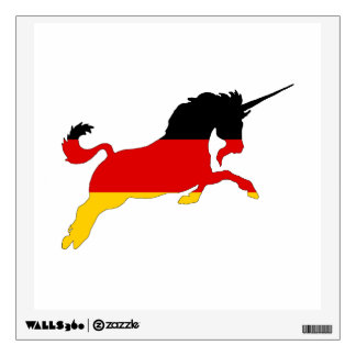 Germann Flag - Unicorn Wall Decal