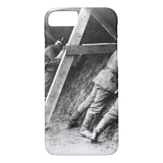 Germans in their well protected_War image iPhone 7 Case