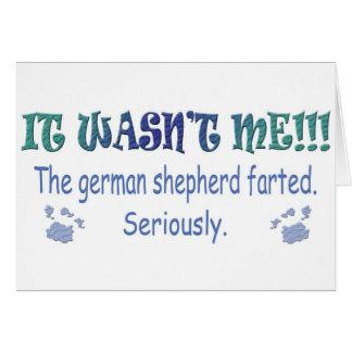 GermanShepherd Card