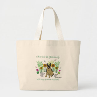 GermanShepherd Large Tote Bag