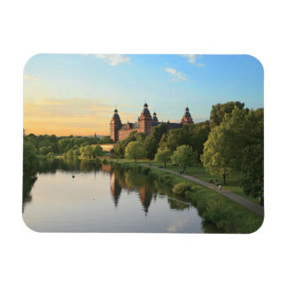 Germany, Aschaffenburg, Schloss (castle) Rectangular Photo Magnet