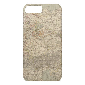 Germany Atlas Map iPhone 7 Plus Case