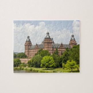 Germany, Bavaria, Bayern, Aschaffenburg. Schloss Jigsaw Puzzle