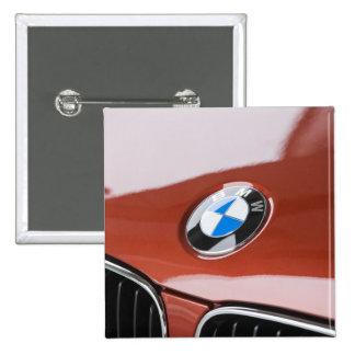 Germany, Bayern-Bavaria, Munich. BMW Welt Car 2 2 Inch Square Button