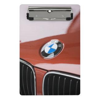 Germany, Bayern-Bavaria, Munich. BMW Welt Car 2 Mini Clipboard