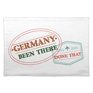 Germany Been There Done That Place Mats