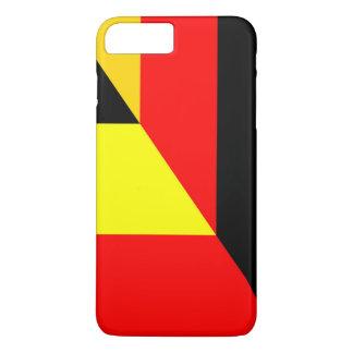germany belgium half flag country symbol iPhone 8 plus/7 plus case