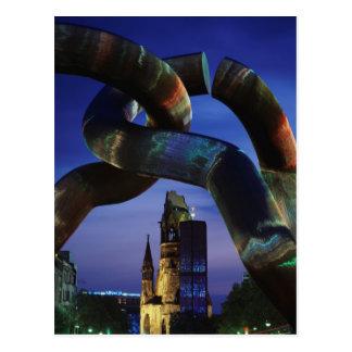 Germany, Berlin, Charlottenburg, Kaiser-Wilhelm Postcard