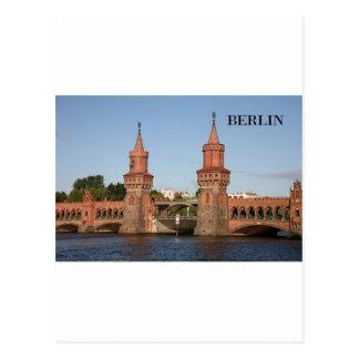 Germany Berlin Oberbaumbrucke (St.K.) Postcard