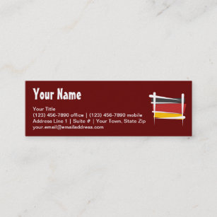 German flag deutsch business cards business card printing zazzle ca germany brush flag mini business card reheart Images