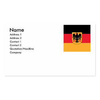 Germany Coat of Arms Business Card Templates
