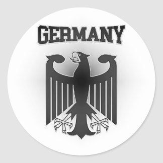 Germany Coat of Arms Classic Round Sticker