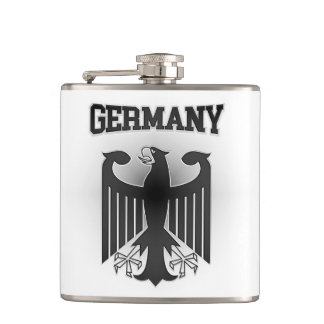 Germany Coat of Arms Hip Flask